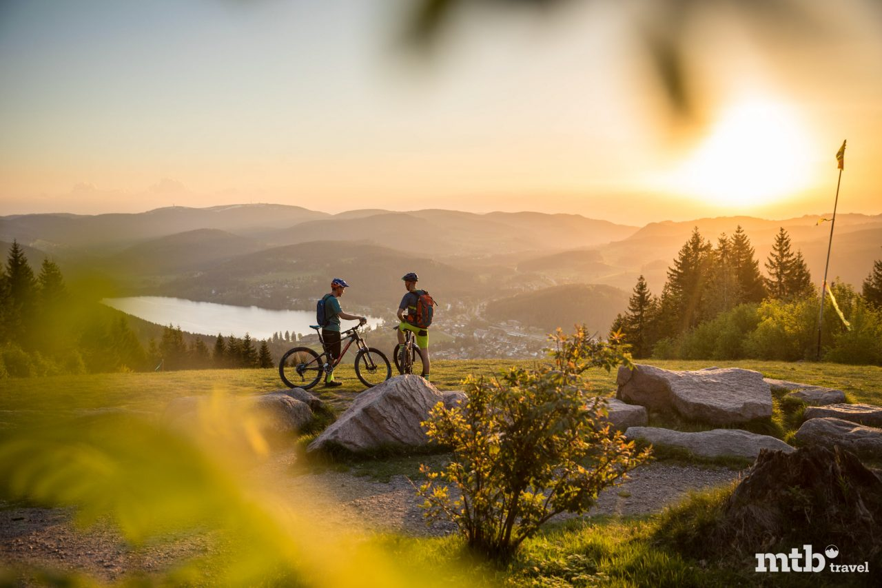 Mountainbiken Schwarzwald Tour Titisee