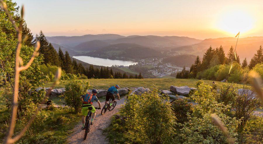Schwarzwald Mountainbiken Gipfeltrail Hochschwarzwald BAden Württemberg