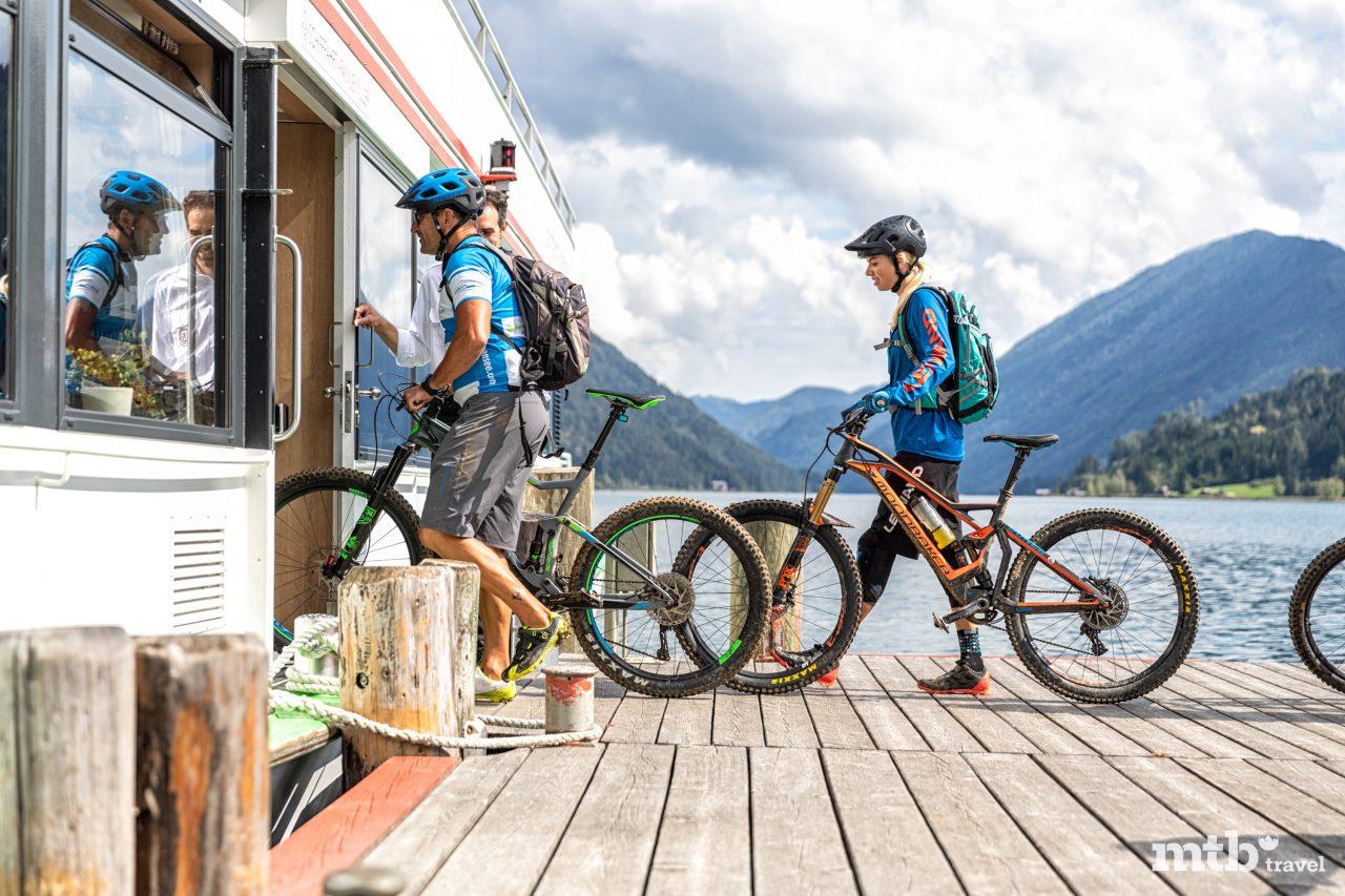 Bike Region Weissensee, Große Seerunde Mountainbike