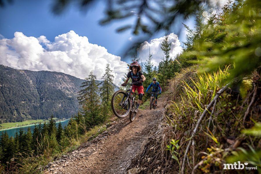 Mountainbiken Kaernten Naturpark Weissensee Trail