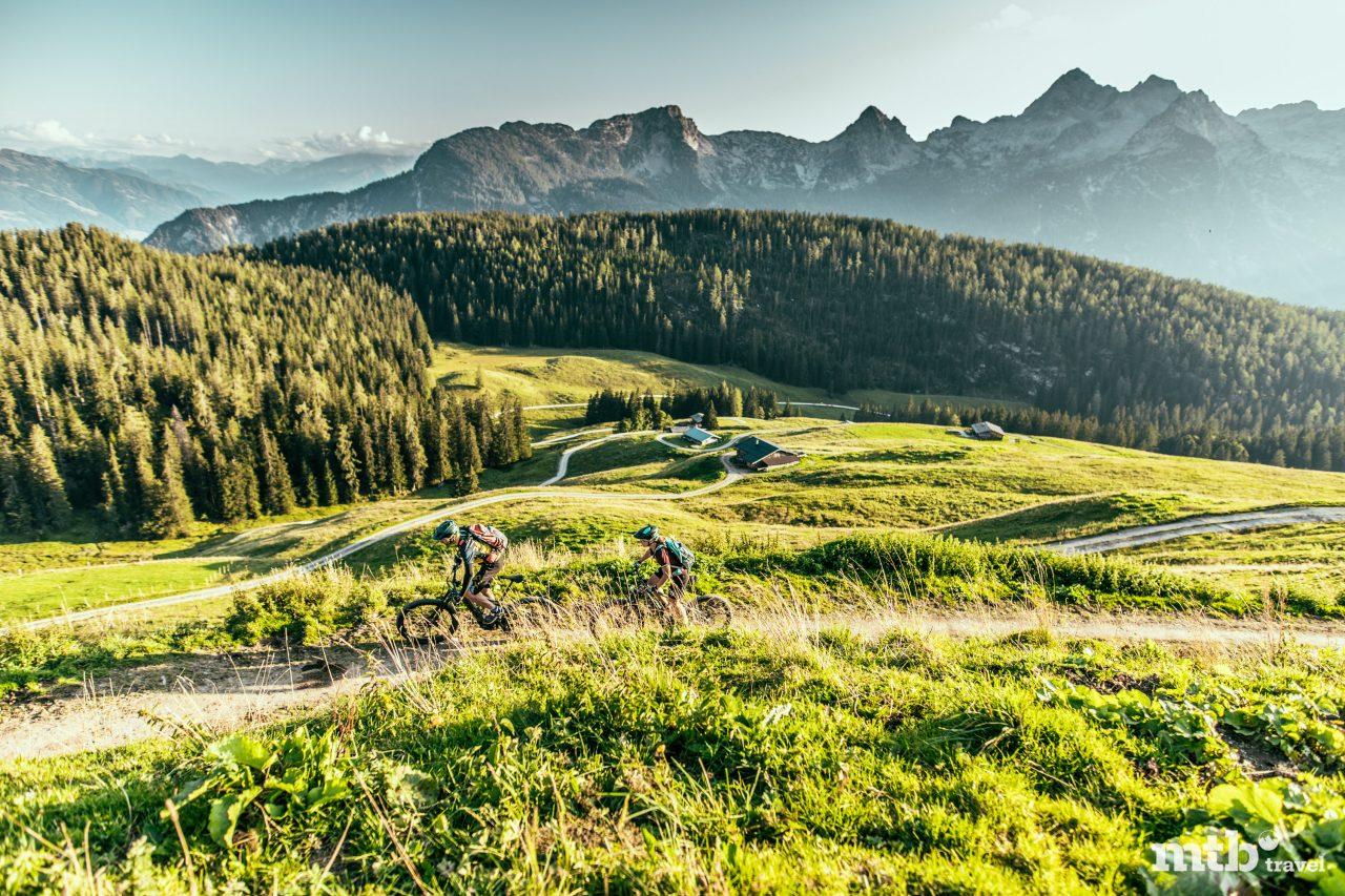 Bike Urlaub im Salzburger Saalachtal Unken_KallbrunnAlm