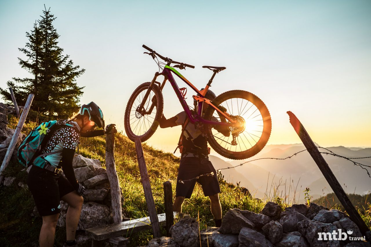 Bike and Hike Salzburger Saalachtal Unken_Peitingkoepfl