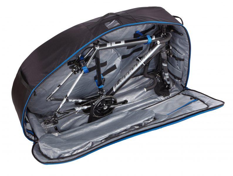 Tipps zum Verreisen mit dem E Bike Thule Round Trip Traveler Innenraum