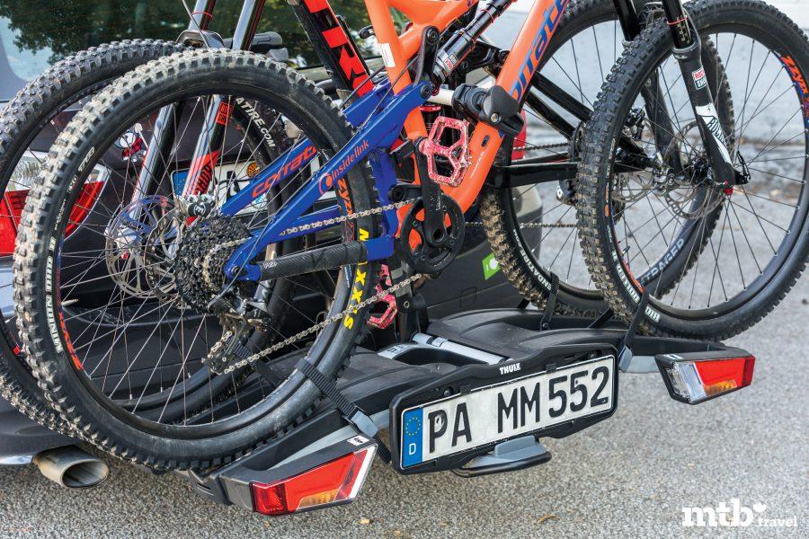 Tipps zum Verreisen mit dem E Bike Thule beladen