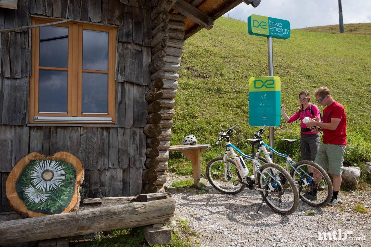Maria Alm am Hochkönig, E-Bike-Ladestation