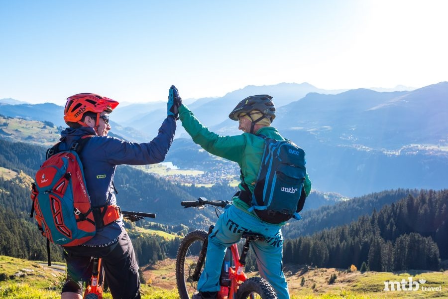 Faires Miteinander auf Graubündens Wegen_Flims Laax