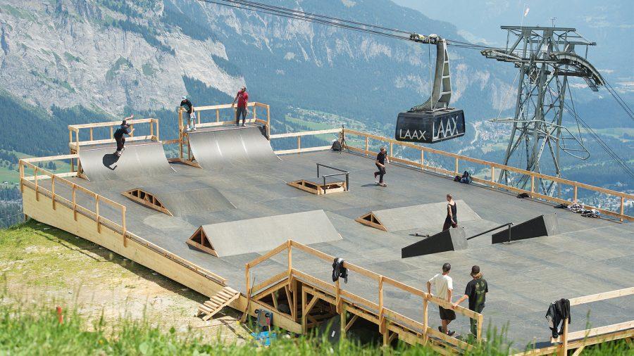 Galaaxy Fun Park auf 2252 Meter_Skatepark