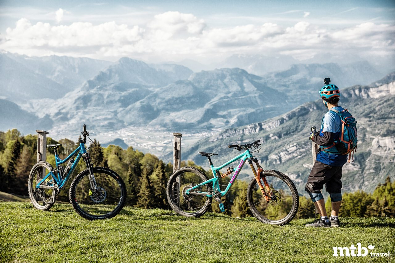 Mountainbike Hotel Santa Lucia am Gardasee Bike Touren