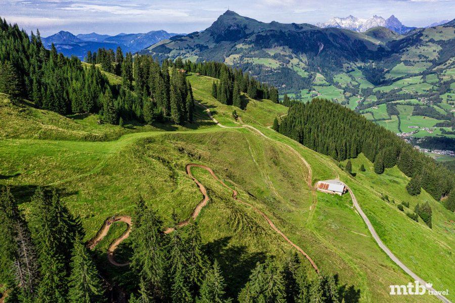 Kitzbüheler Alpen mtb Trails