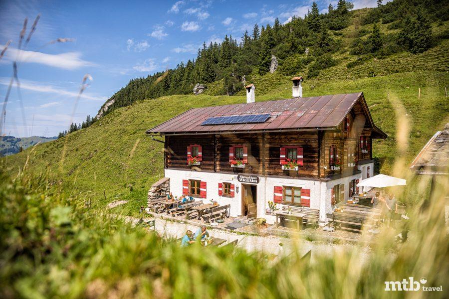 Kitzbüheler Alpen mtb Trails - Wiegalm