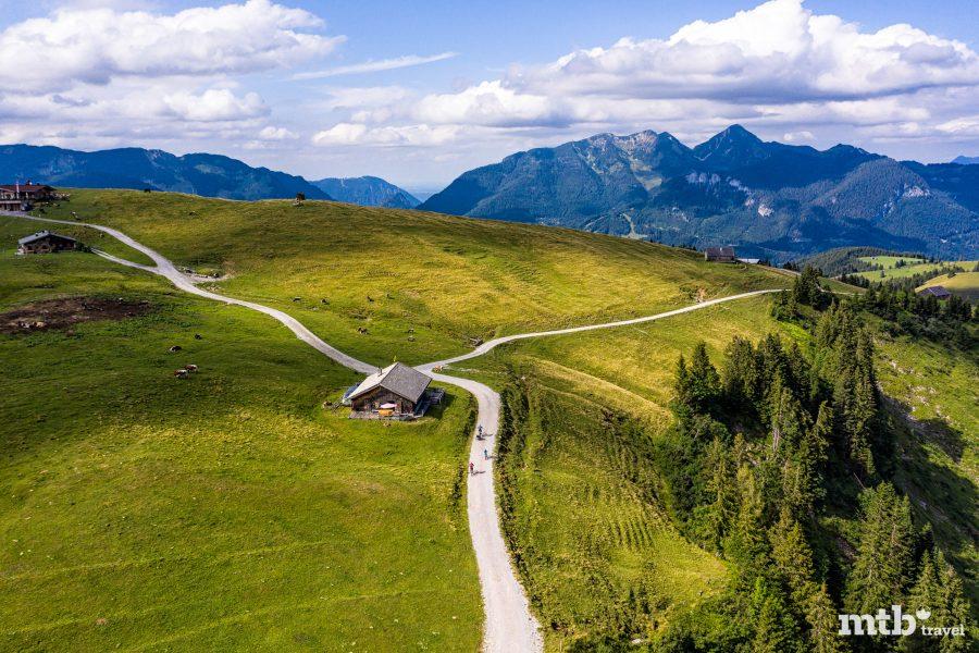 Fahrradfahren mit Kindern im Salzburger Saalachtal - Almenwelt Lofer