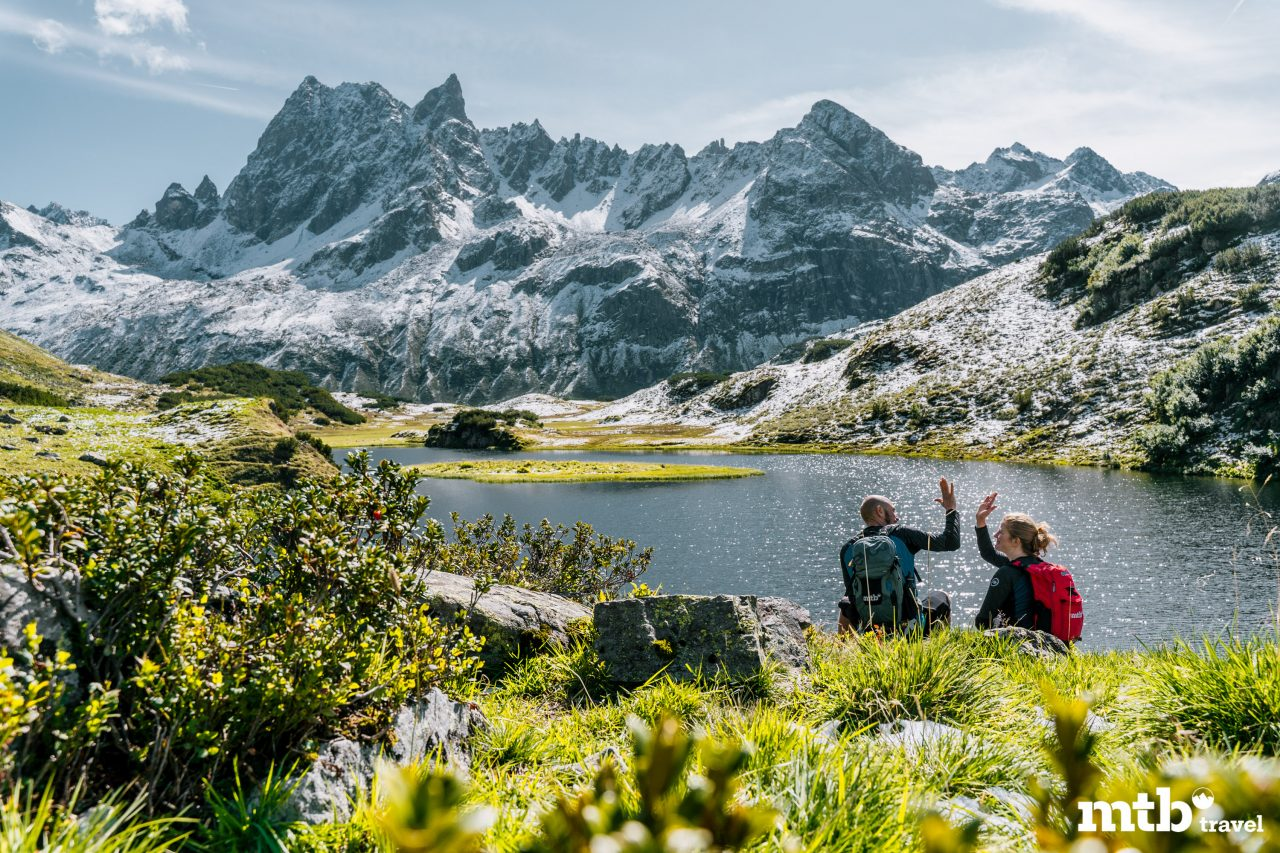 Bike Urlaub im Montafon Berg See