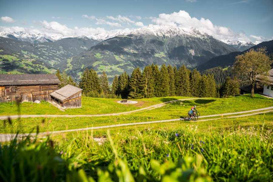 Bike Urlaub im Montafon Forstwege