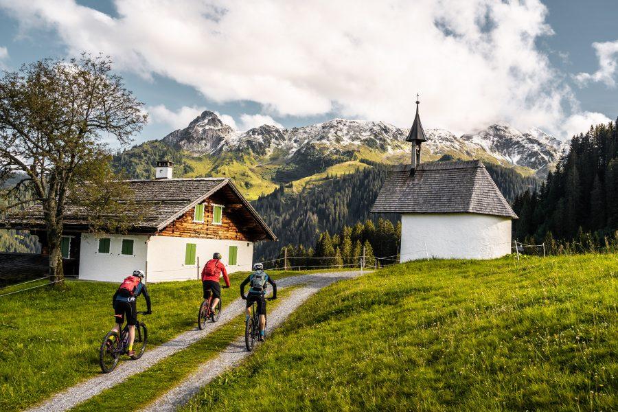 Bike Urlaub im Montafon Kapelle