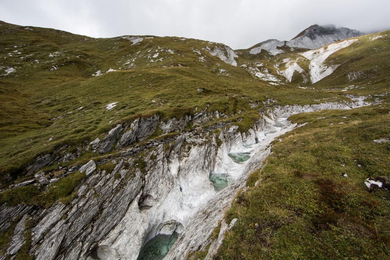 Klimawandel in den Bergen Wetterextreme
