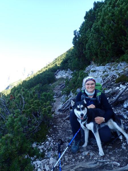 Traildog Ausbildung Carina Knoll